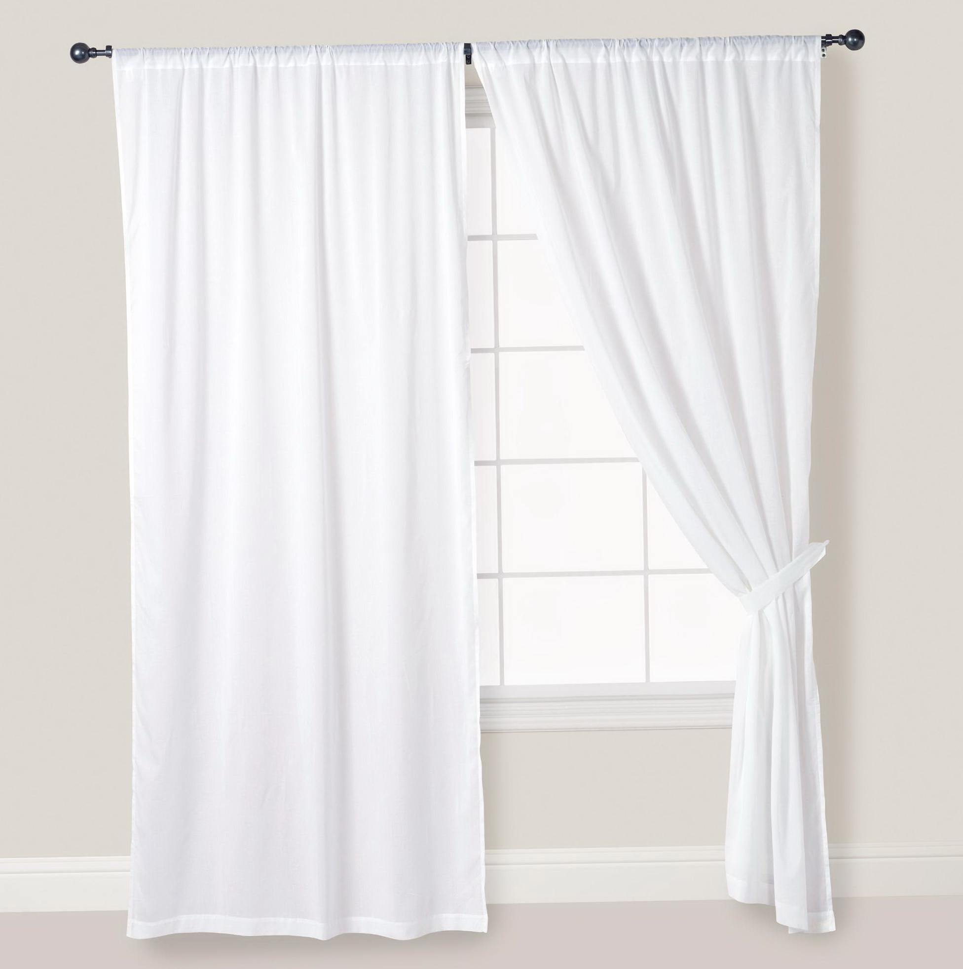 White Linen Curtains 96 Home Design Ideas