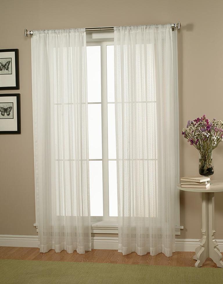 White Sheer Curtains 84 Home Design Ideas