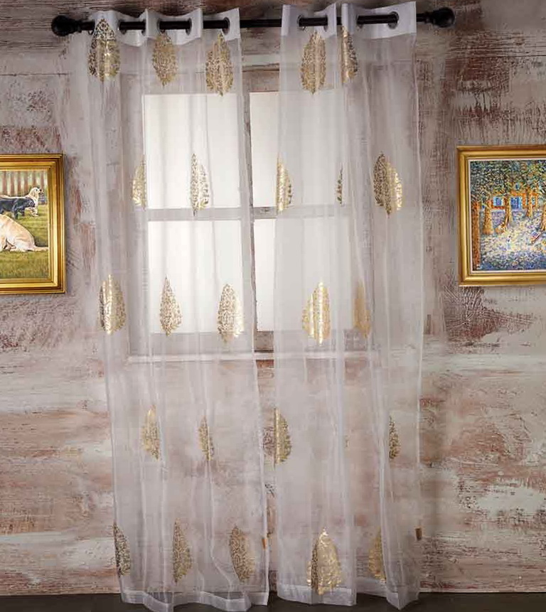 Awesome White Sheer Curtains With Designs Freshomedaily