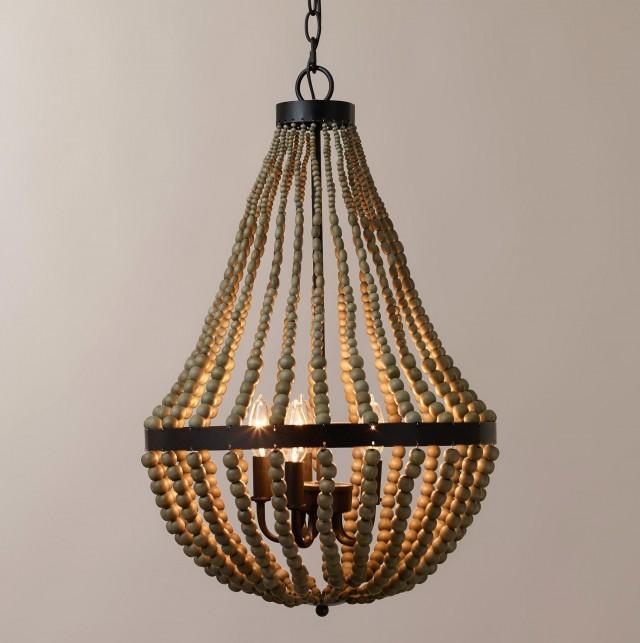Diy beaded chandelier earrings home design ideas wooden beaded chandelier australia mozeypictures Choice Image