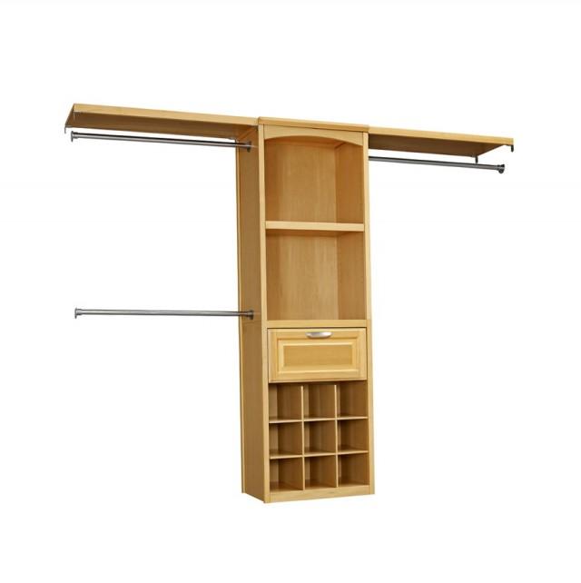 Wooden Closet Organizer Kits