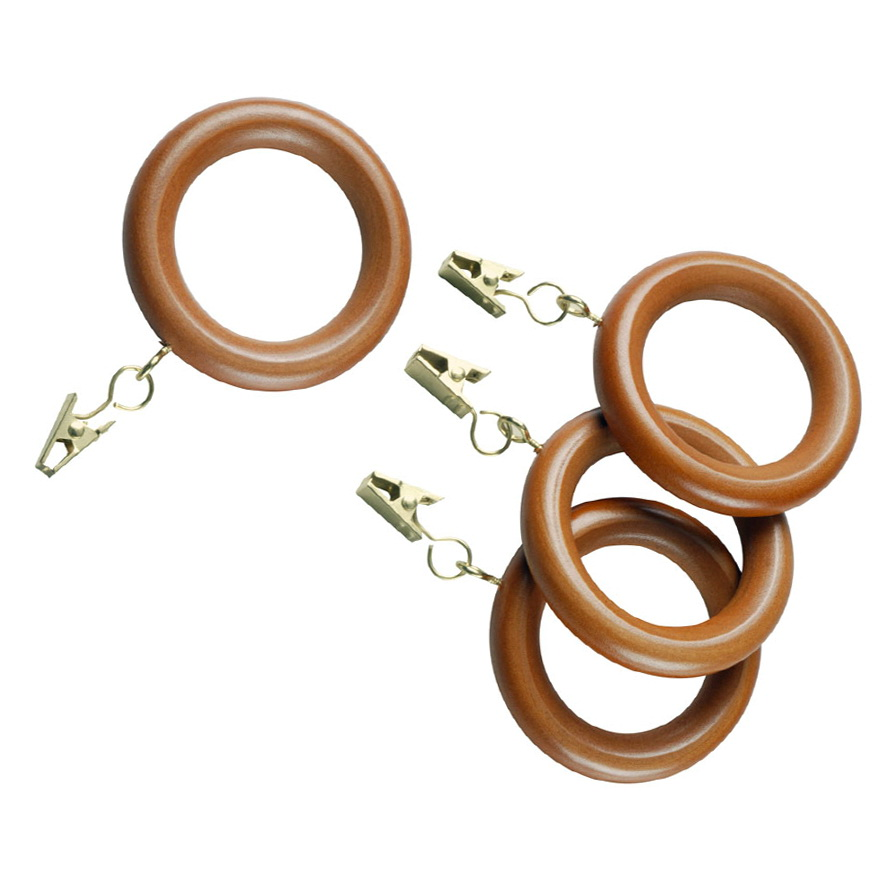 Wooden Curtain Rods And Rings