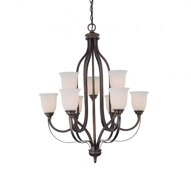 9 Light Chandelier Oil Rubbed Bronze