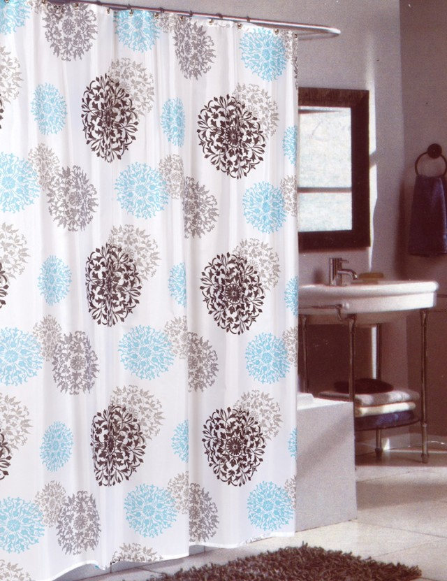 96 Inch Shower Curtain Fabric