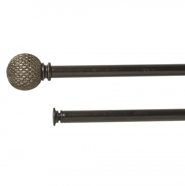 Adjustable Double Curtain Rod