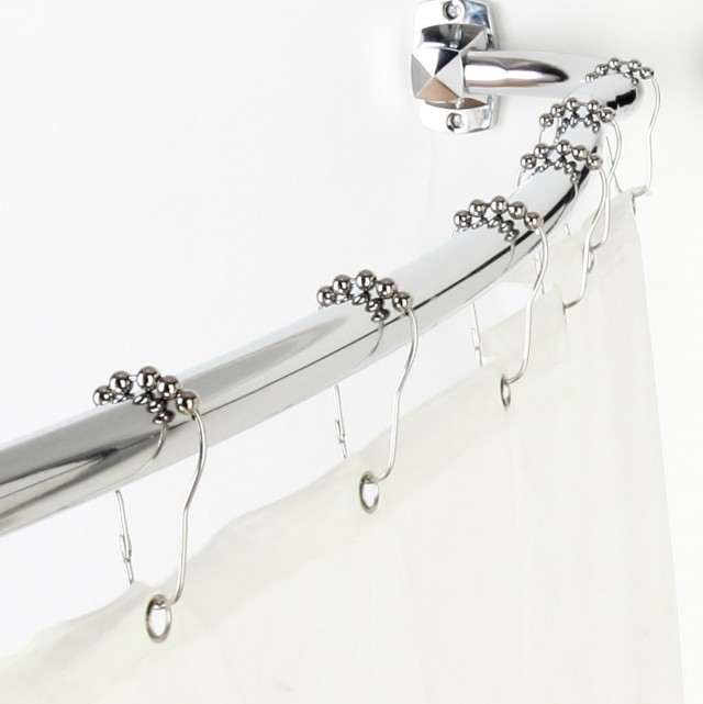 Adjustable Shower Curtain Rod
