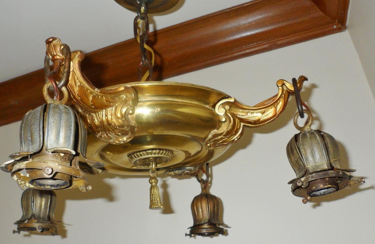 Art Deco Chandelier Ebay
