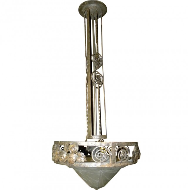 Art Deco Chandelier For Sale