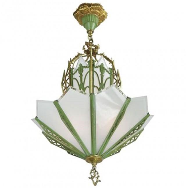 Art Glass Chandeliers For Sale