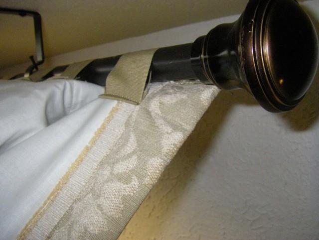 Back Tab Curtains Diy