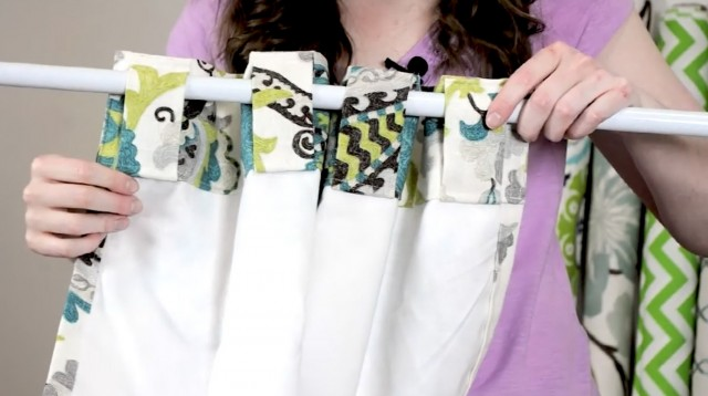 Back Tab Curtains How To Make