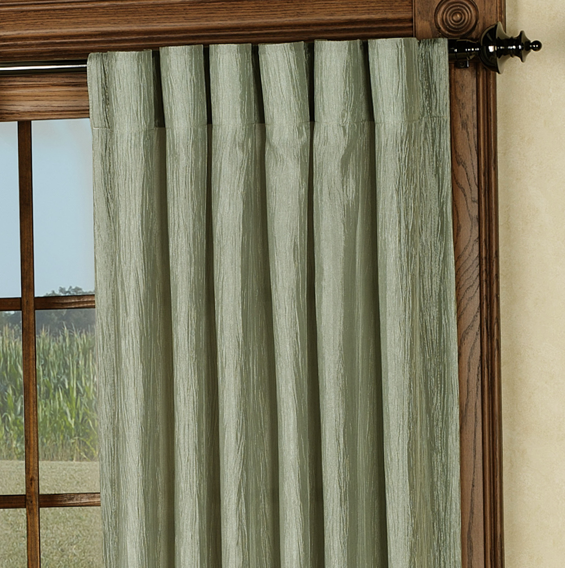Back Tab Panel Curtains Home Design Ideas
