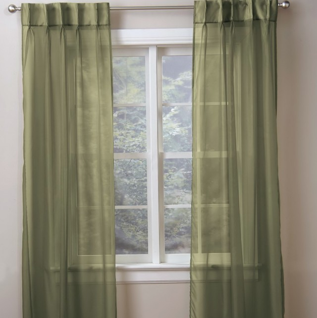 Back Tab Pinch Pleat Curtains