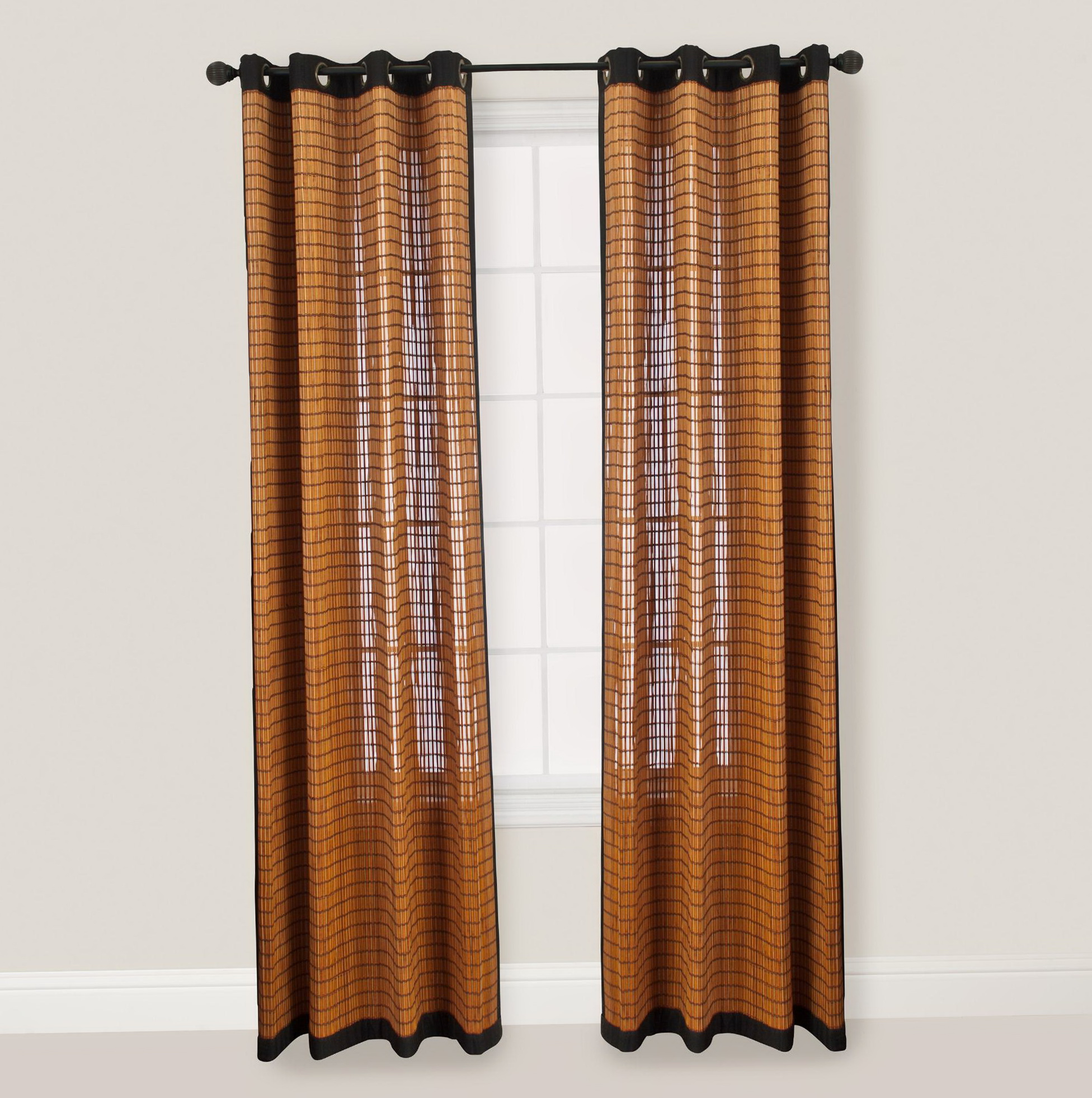 Bamboo Curtain Panels 96 Home Design Ideas