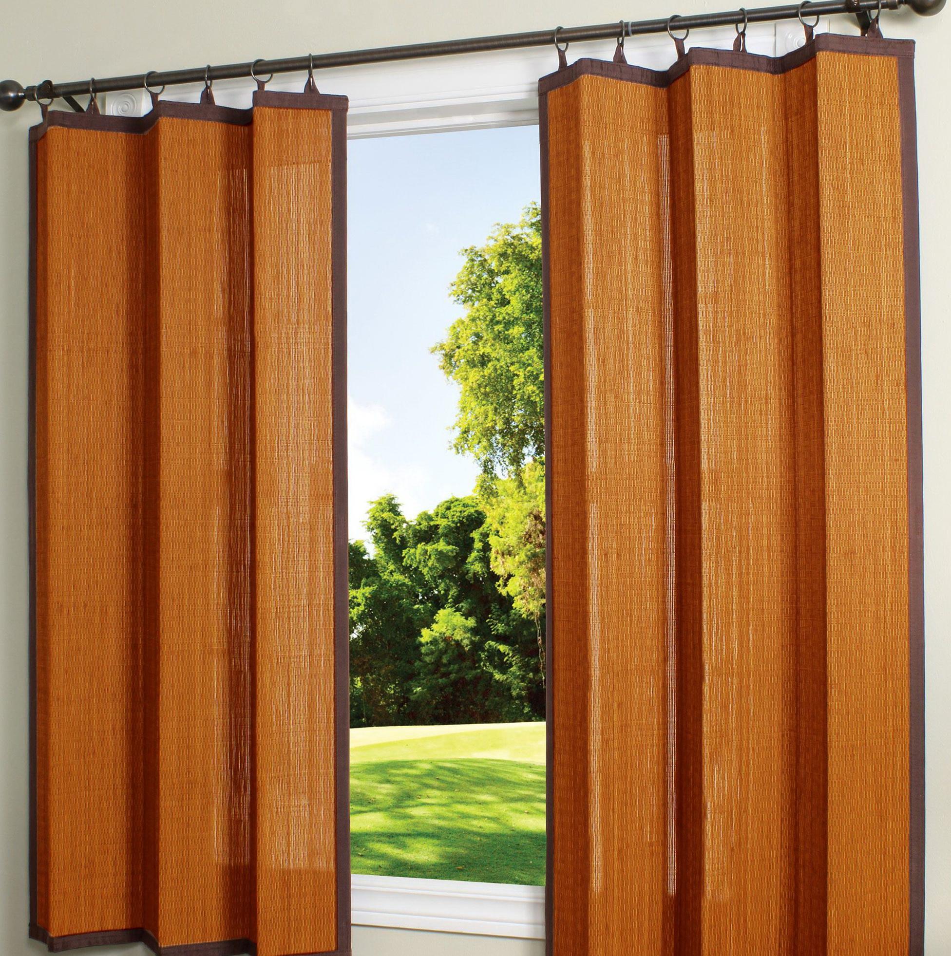 Bamboo Curtain Panels Amazon Home Design Ideas