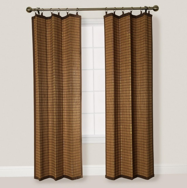 Bamboo Curtains For Doors