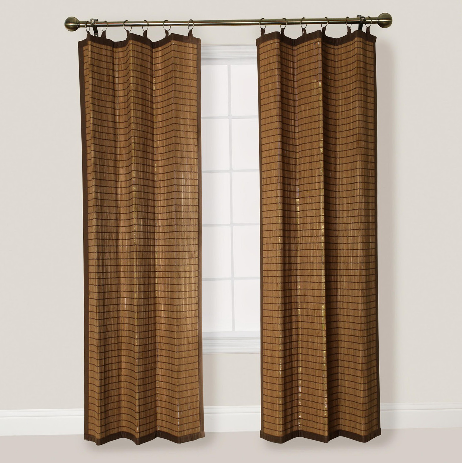 Bamboo Curtains For Doors Home Design Ideas
