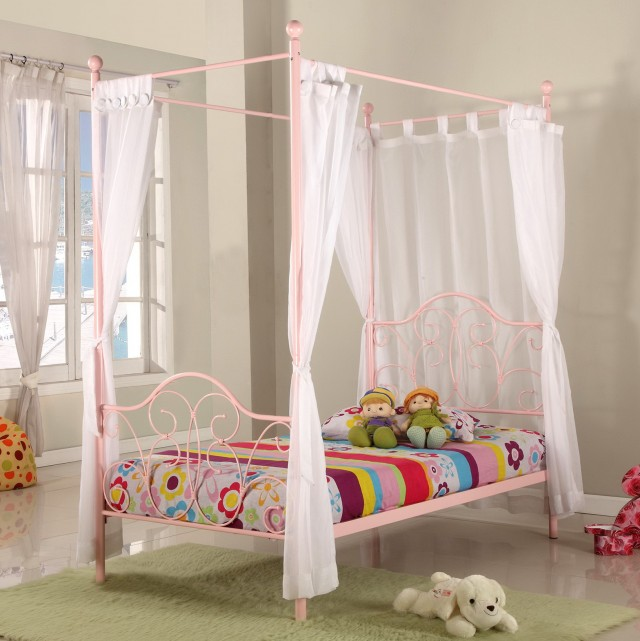 Bed With Curtains For Kids