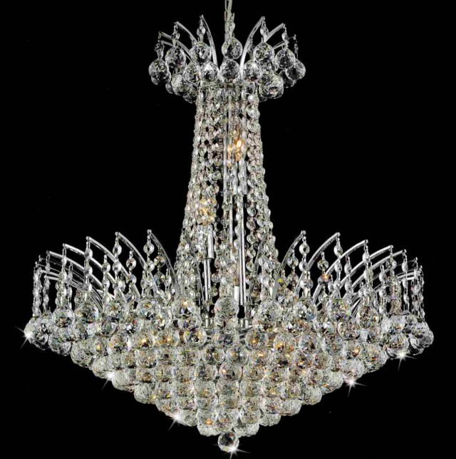 Round Chandelier With Candles Home Design Ideas