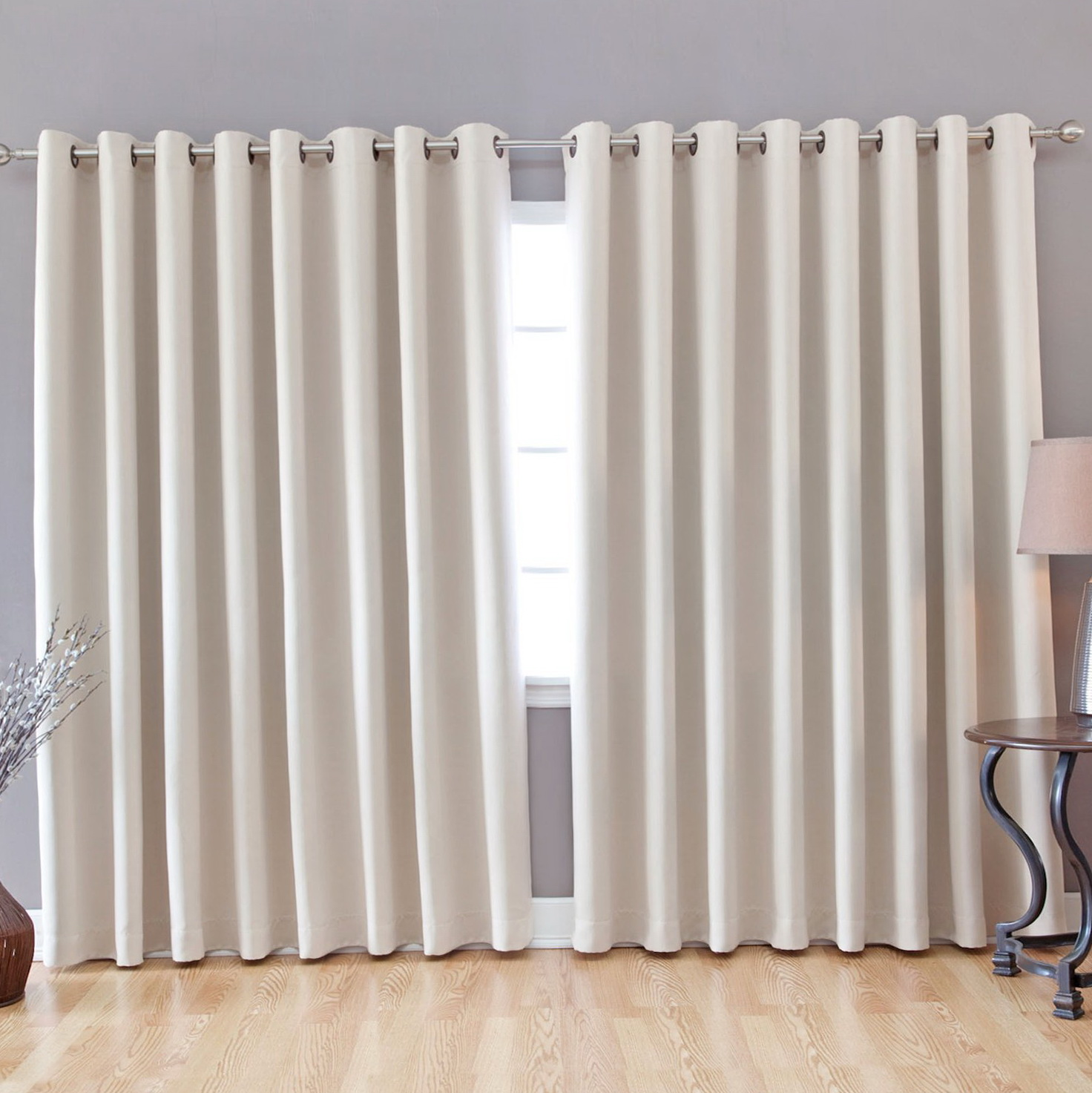 Best Curtains For Wide Windows Home Design Ideas