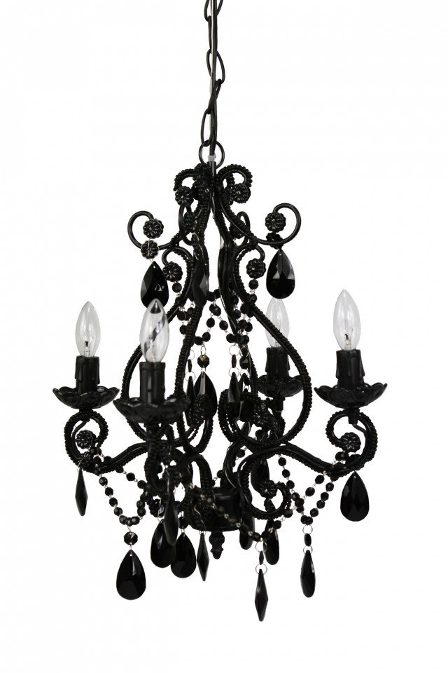 Black Chandelier Lighting Cheap