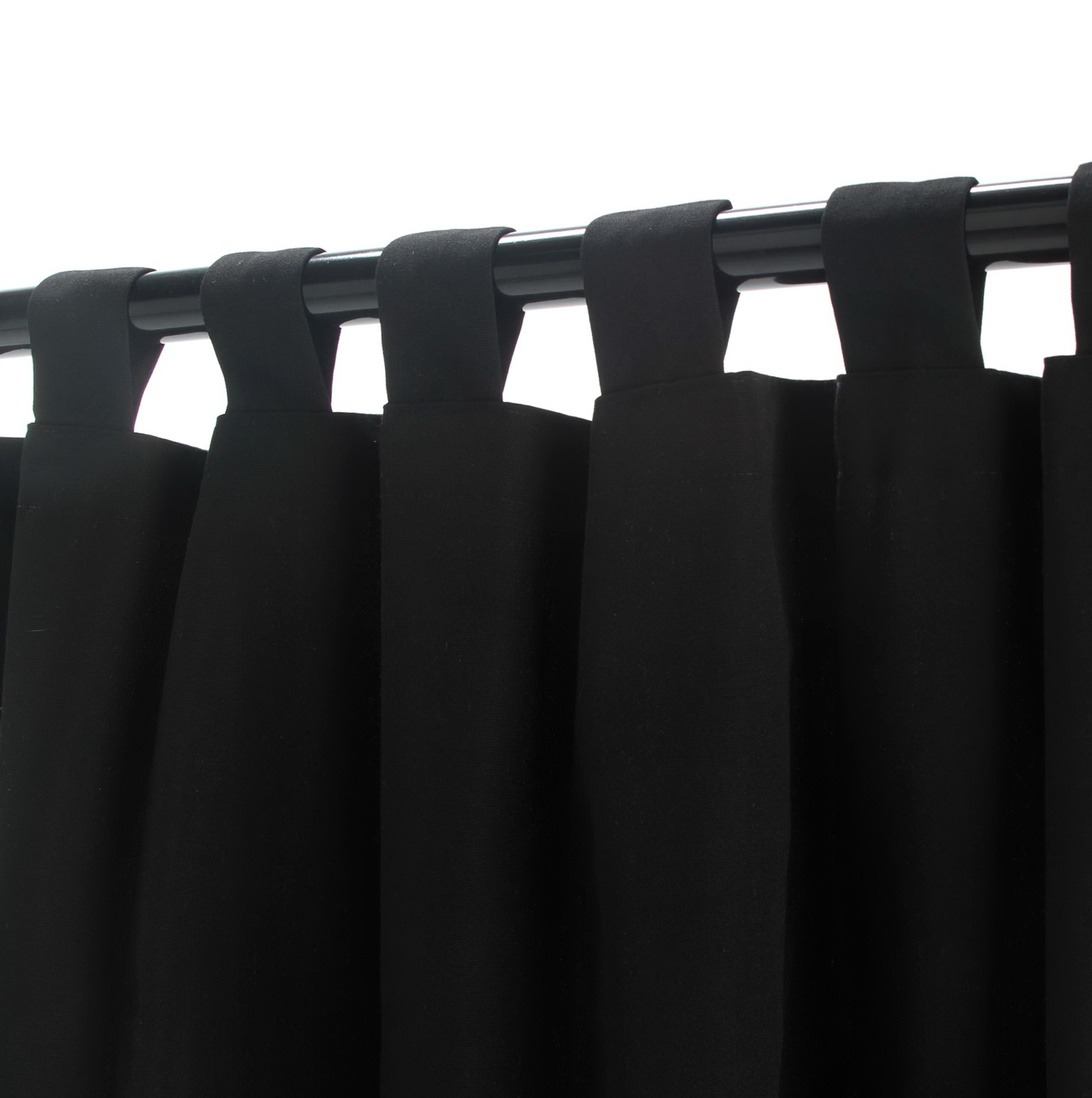 Black Velvet Curtains 108