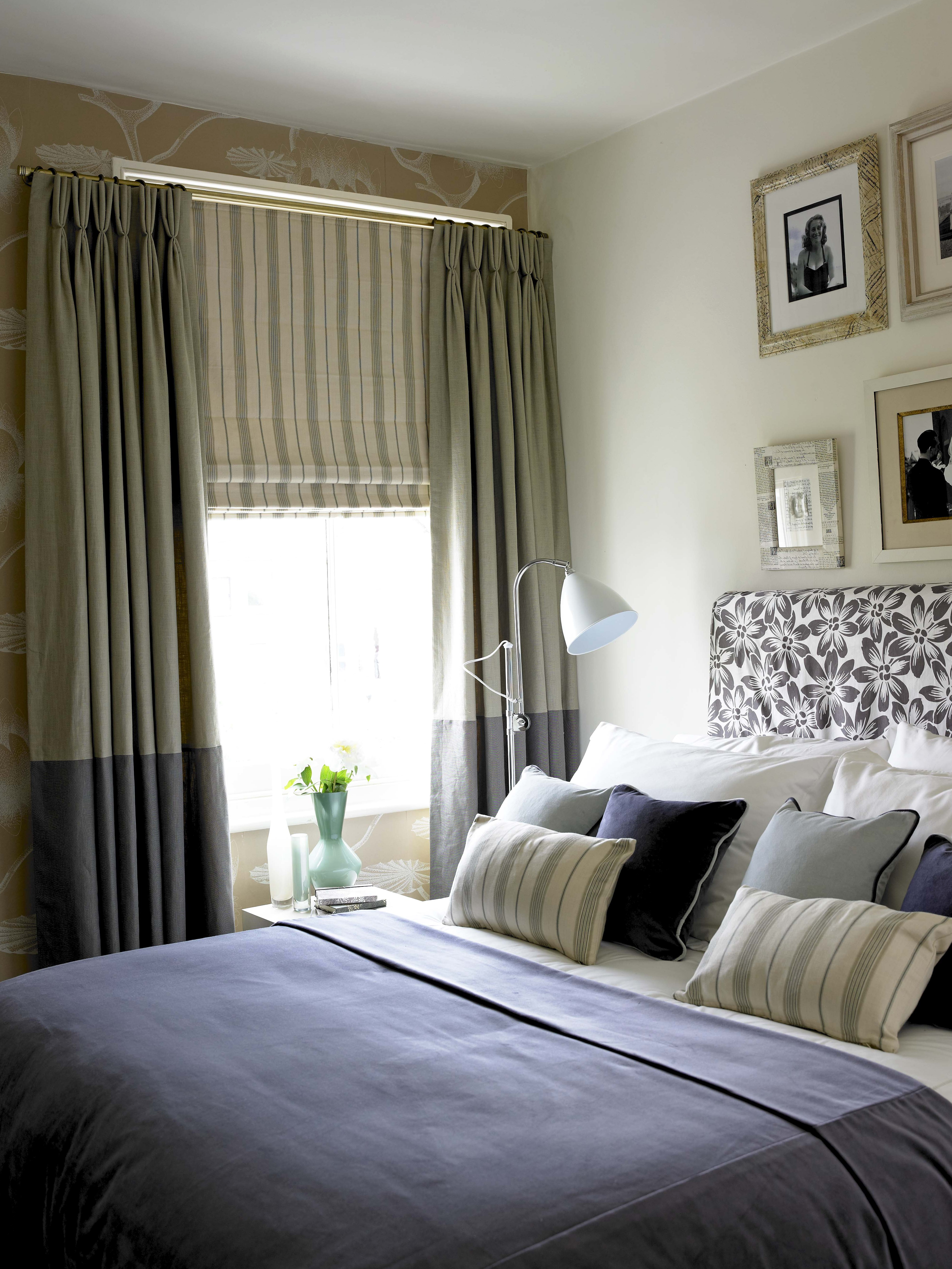 Blinds And Curtains Combination Bedroom | Home Design Ideas
