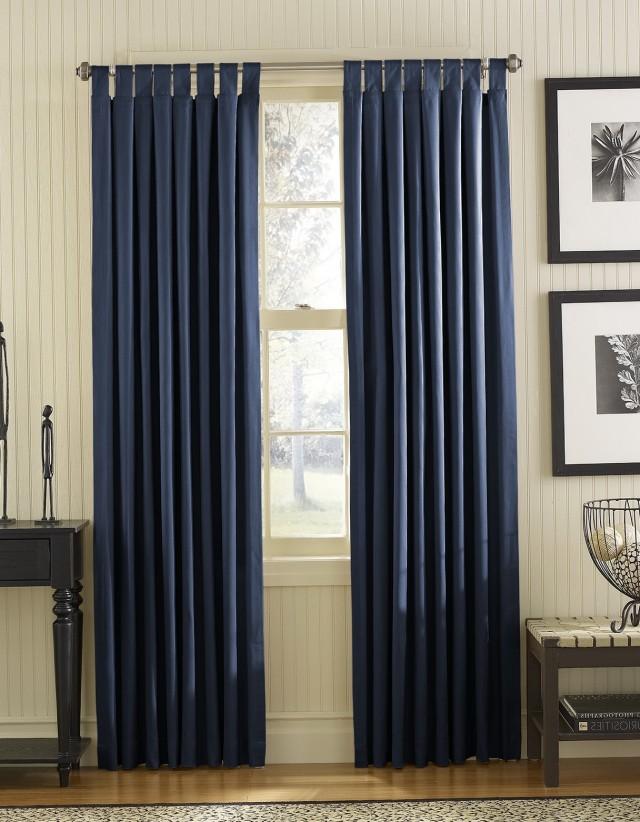 Blue Carpet Gold Curtain Rods