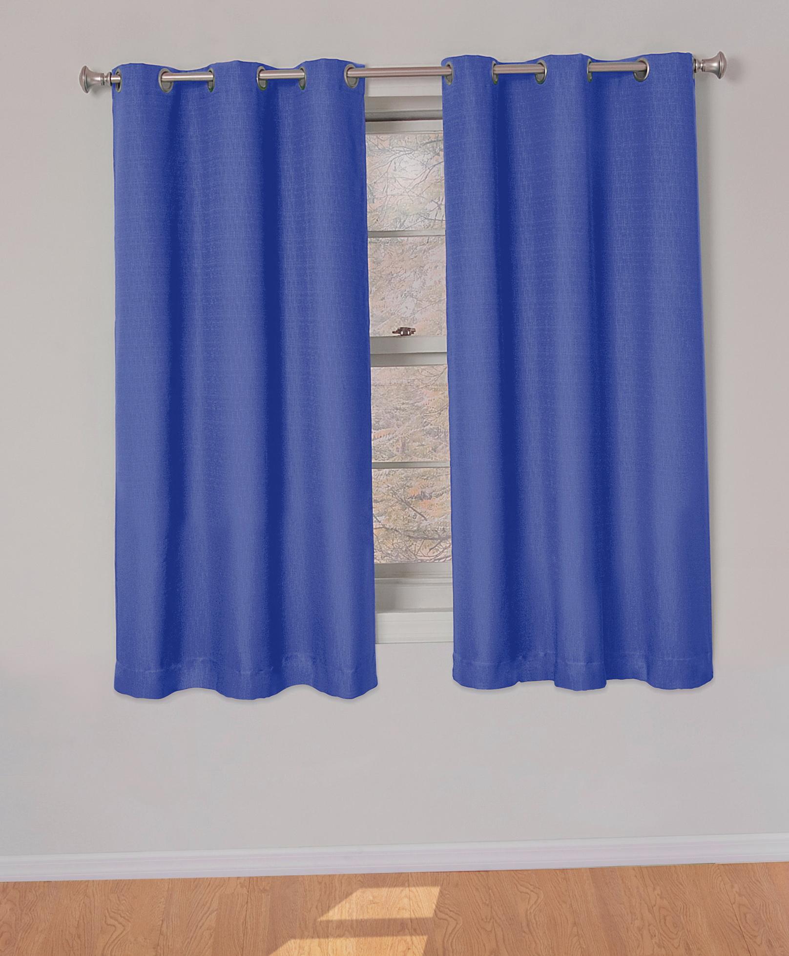 Blue Curtain Panels Walmart