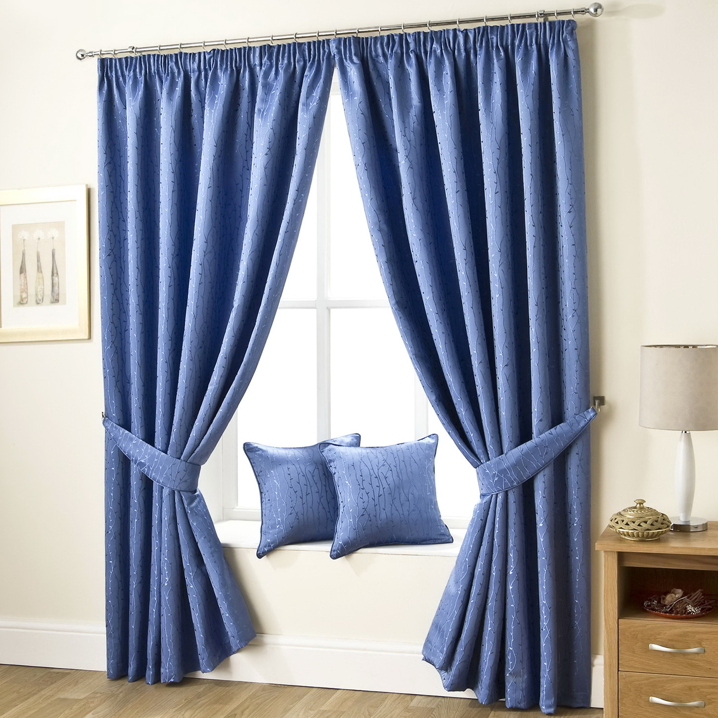Blue Velvet Curtains Uk