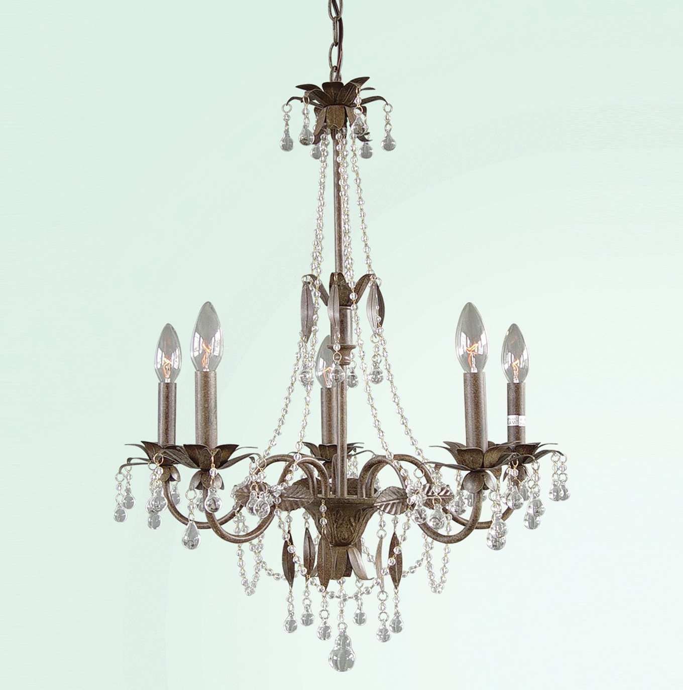 Brown Crystal Chandelier Lighting Home Design Ideas