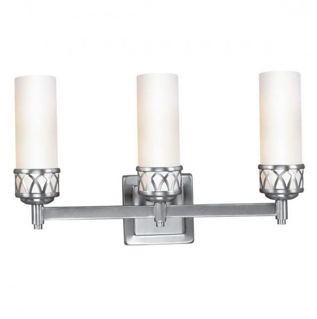 Brushed Nickel Bathroom Chandeliers