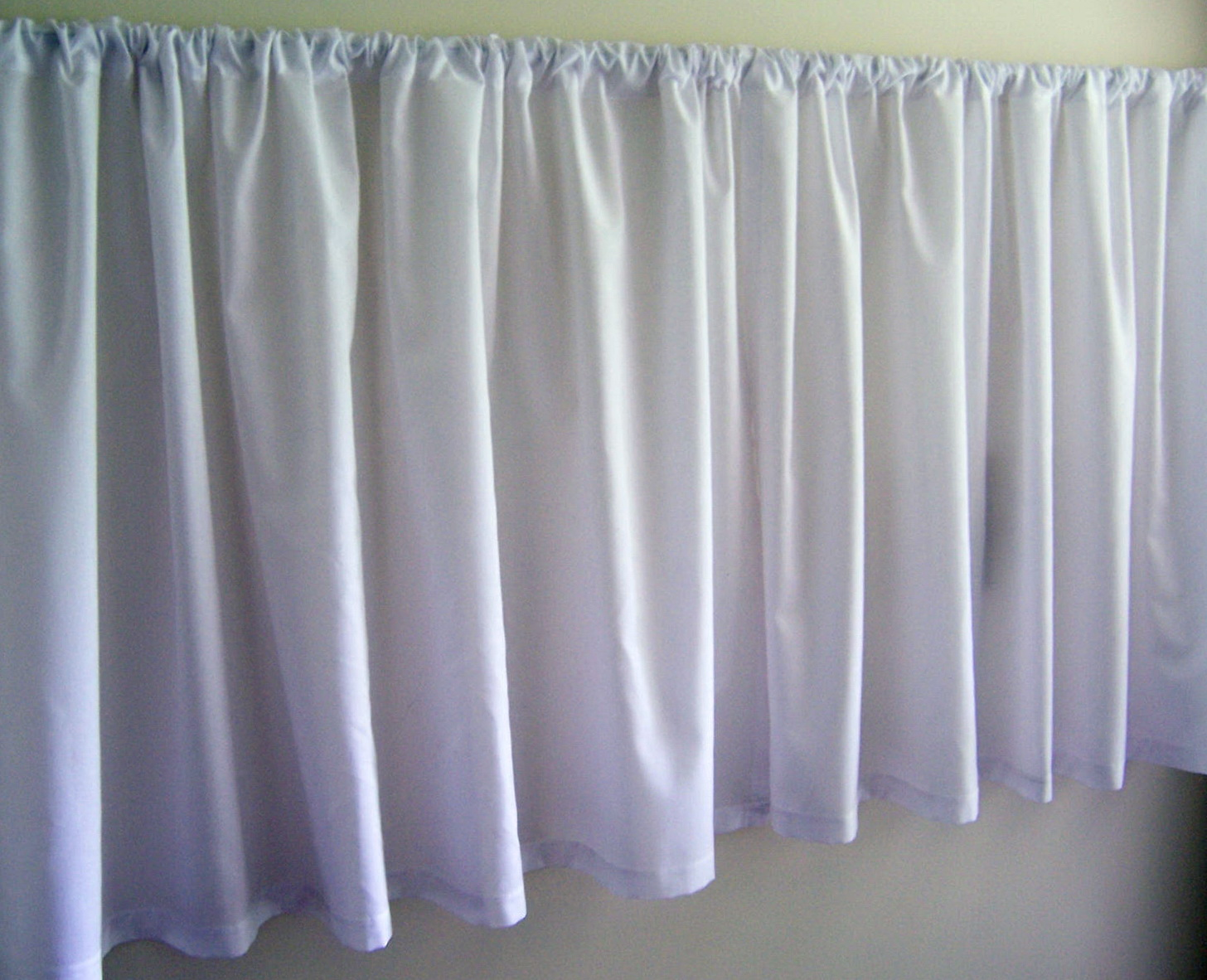 Cafe Curtain Rods White Home Design Ideas