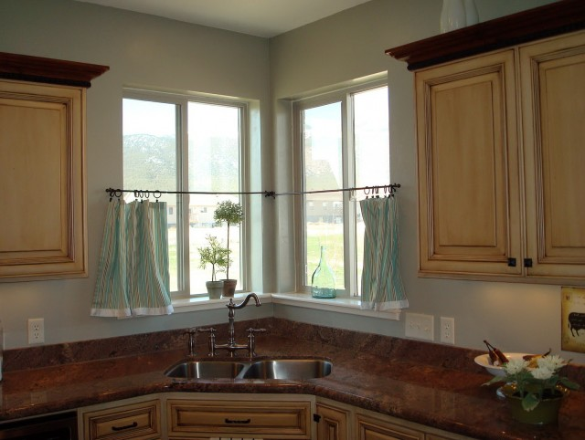 Cafe Curtains For Kitchen Modern