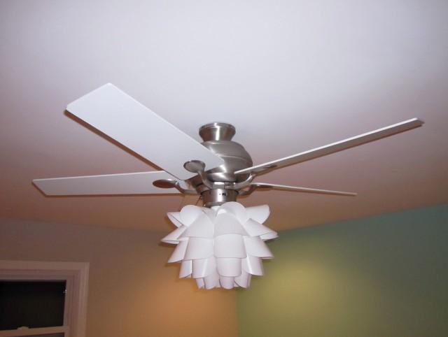 Ceiling Fan Chandelier Diy