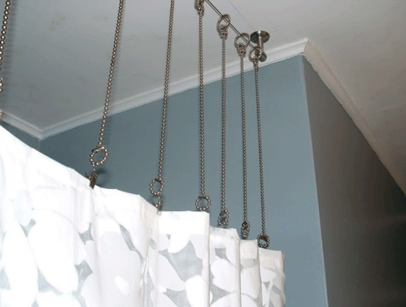 ikea track shower decorative mounted curtain mount curtains concepts dlrn design rods ceiling
