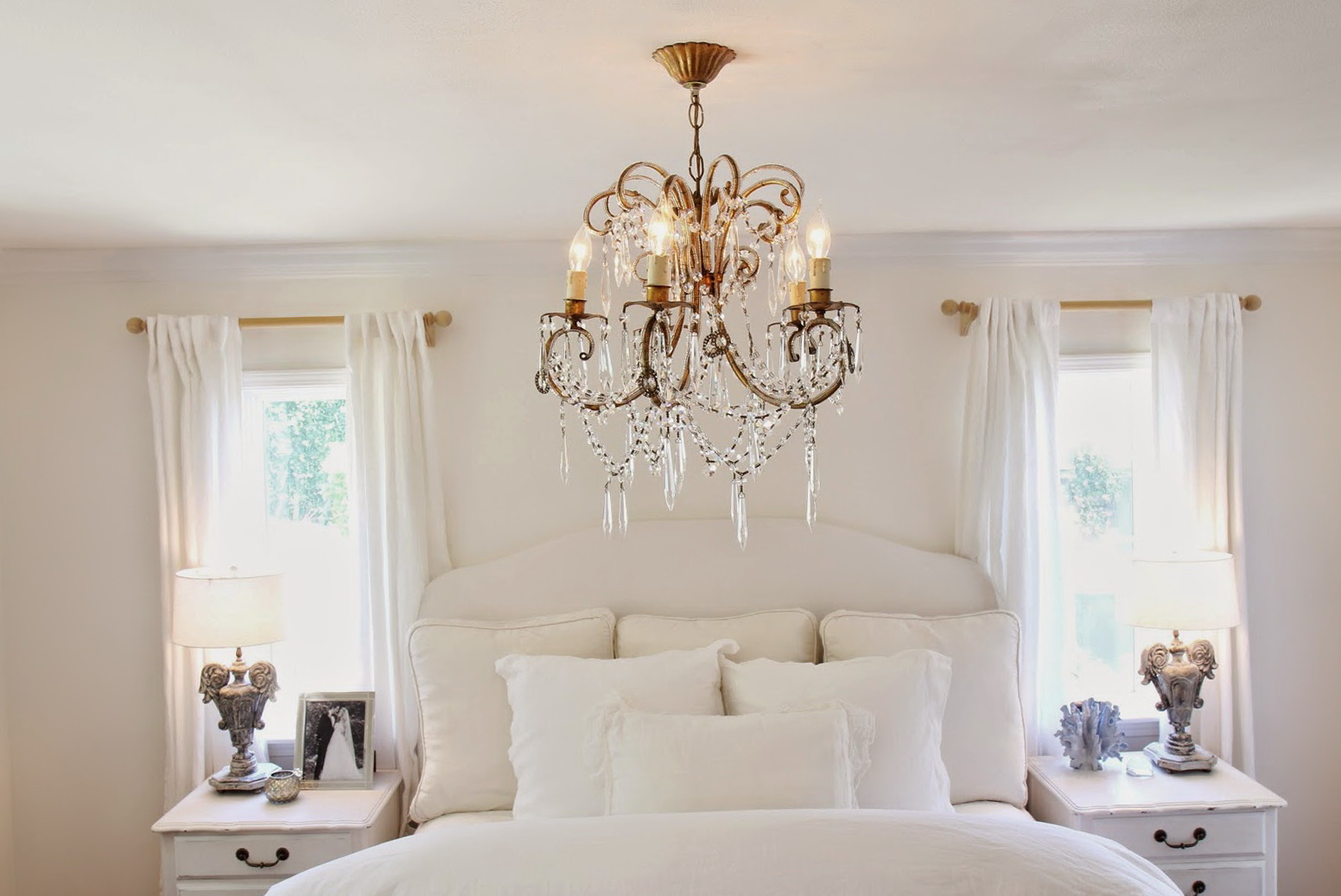 Chandelier In Master Bedroom Home Design Ideas