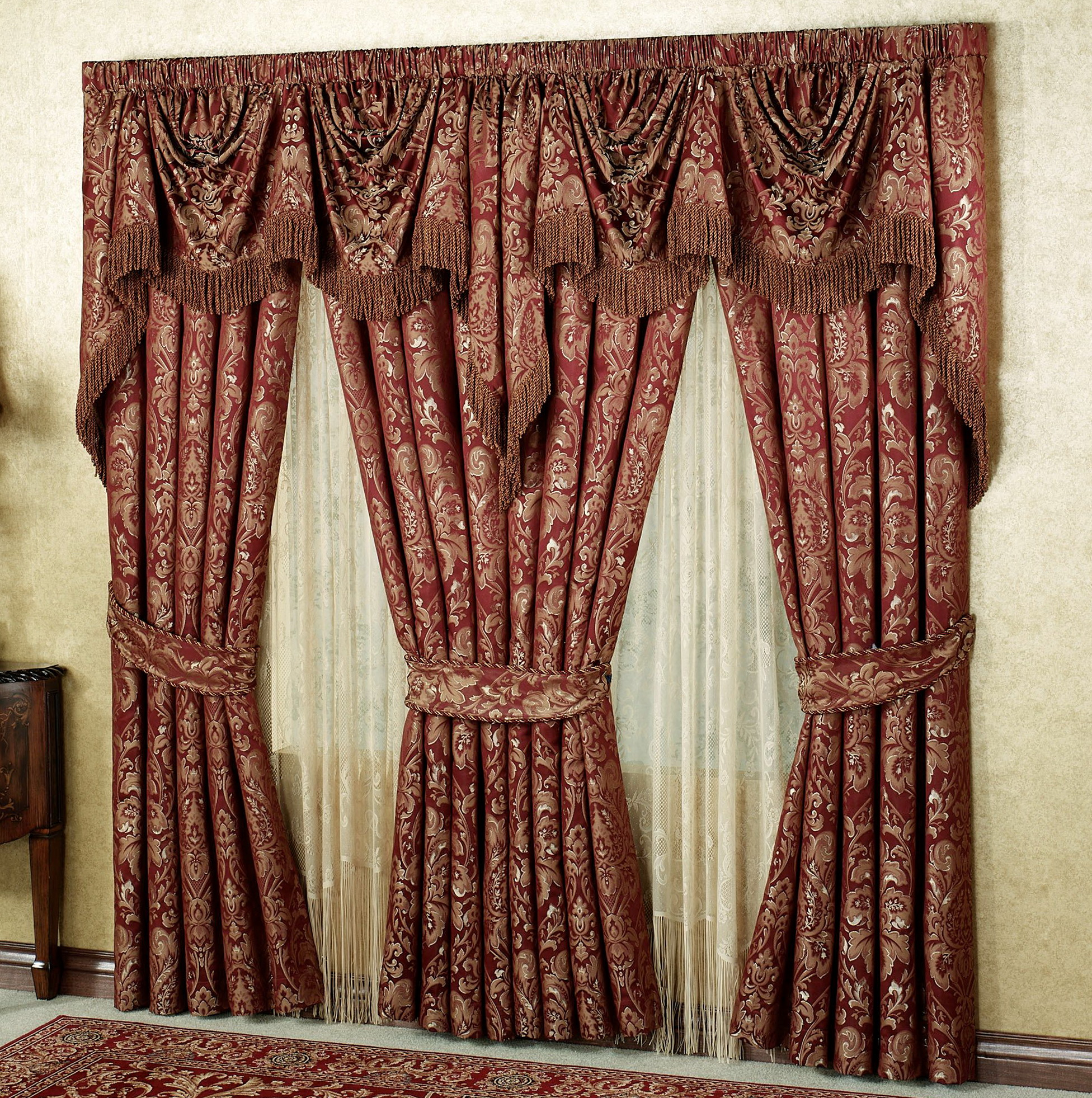 Cheap Window Curtains And Valances Home Design Ideas