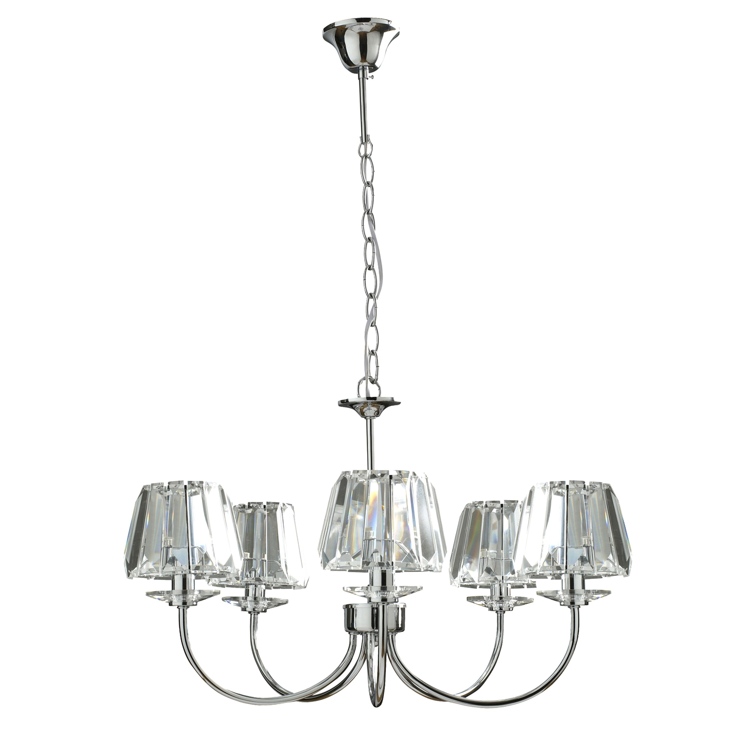 Clear Glass Chandelier Shades