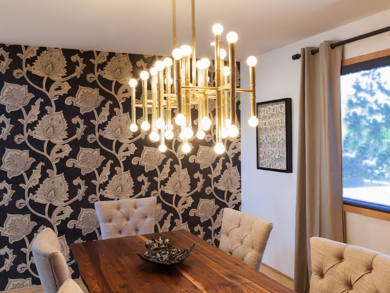 Contemporary chandelier for dining room home design ideas - Contemporary dining room chandelier ...