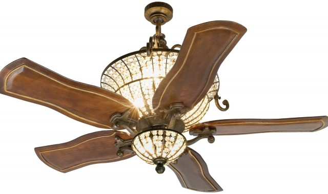 Crystal Chandelier Ceiling Fans