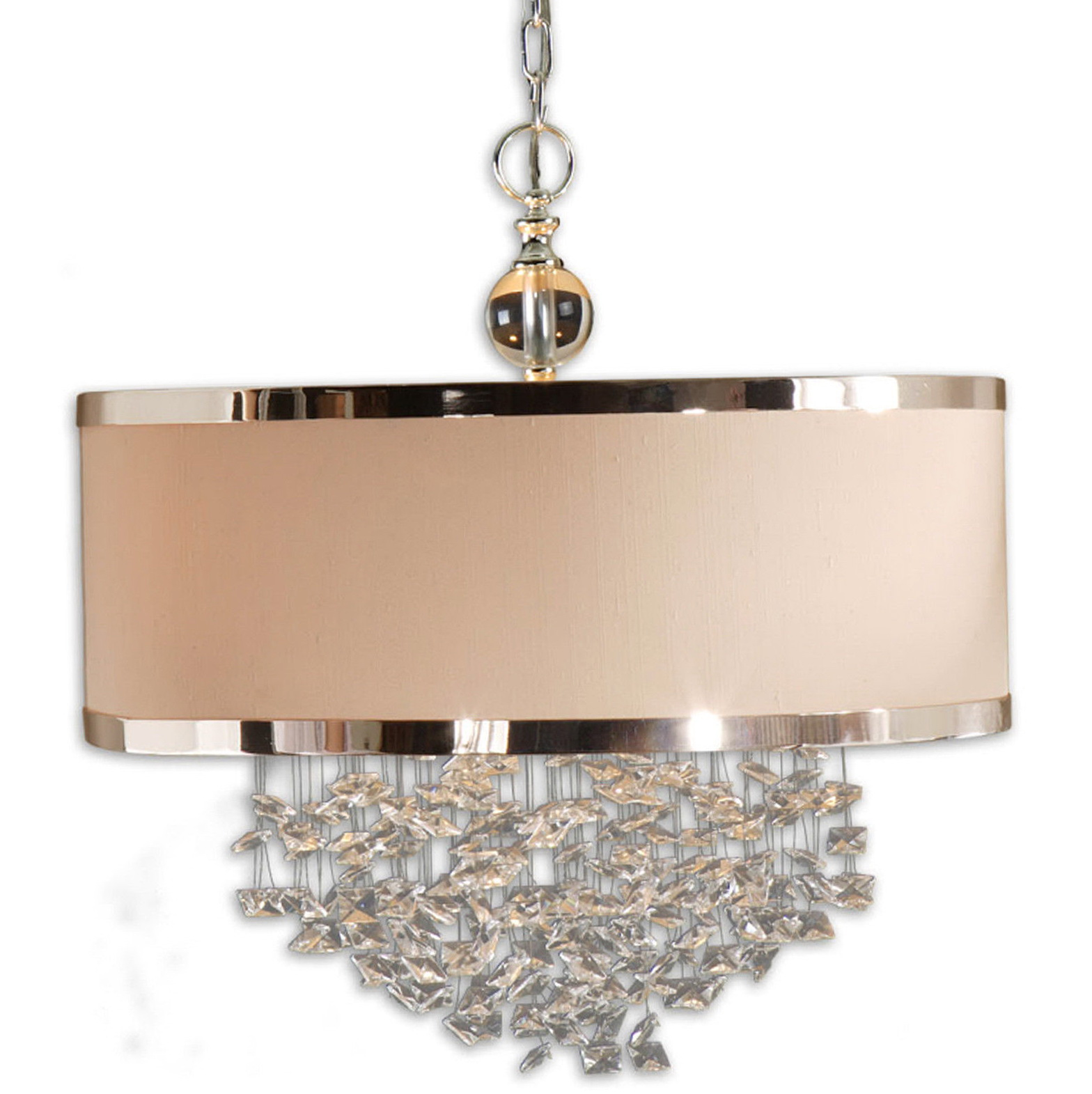 Crystal Lamp Shade Chandelier