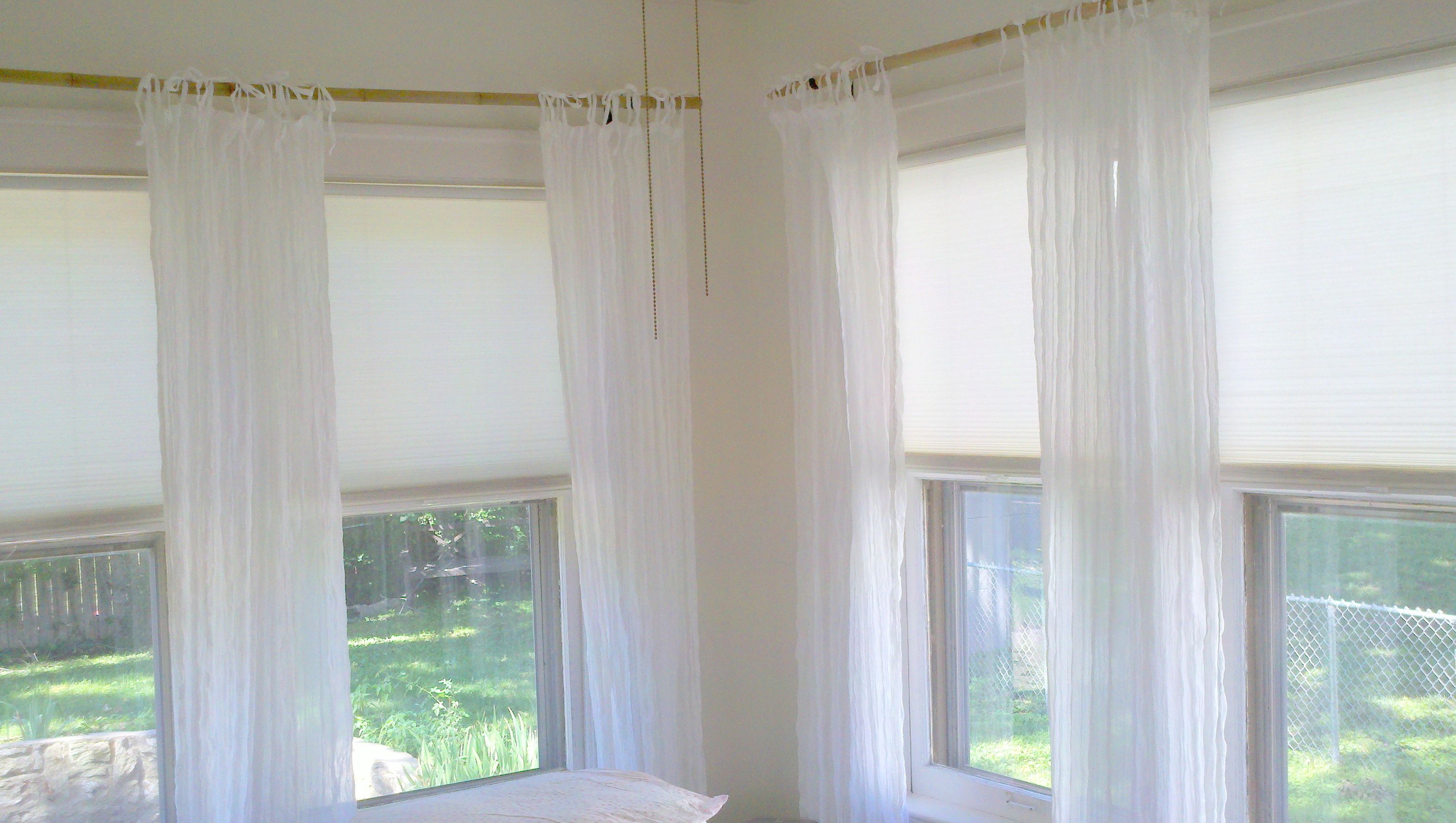 Curtain Rods For Corner Windows Brackets