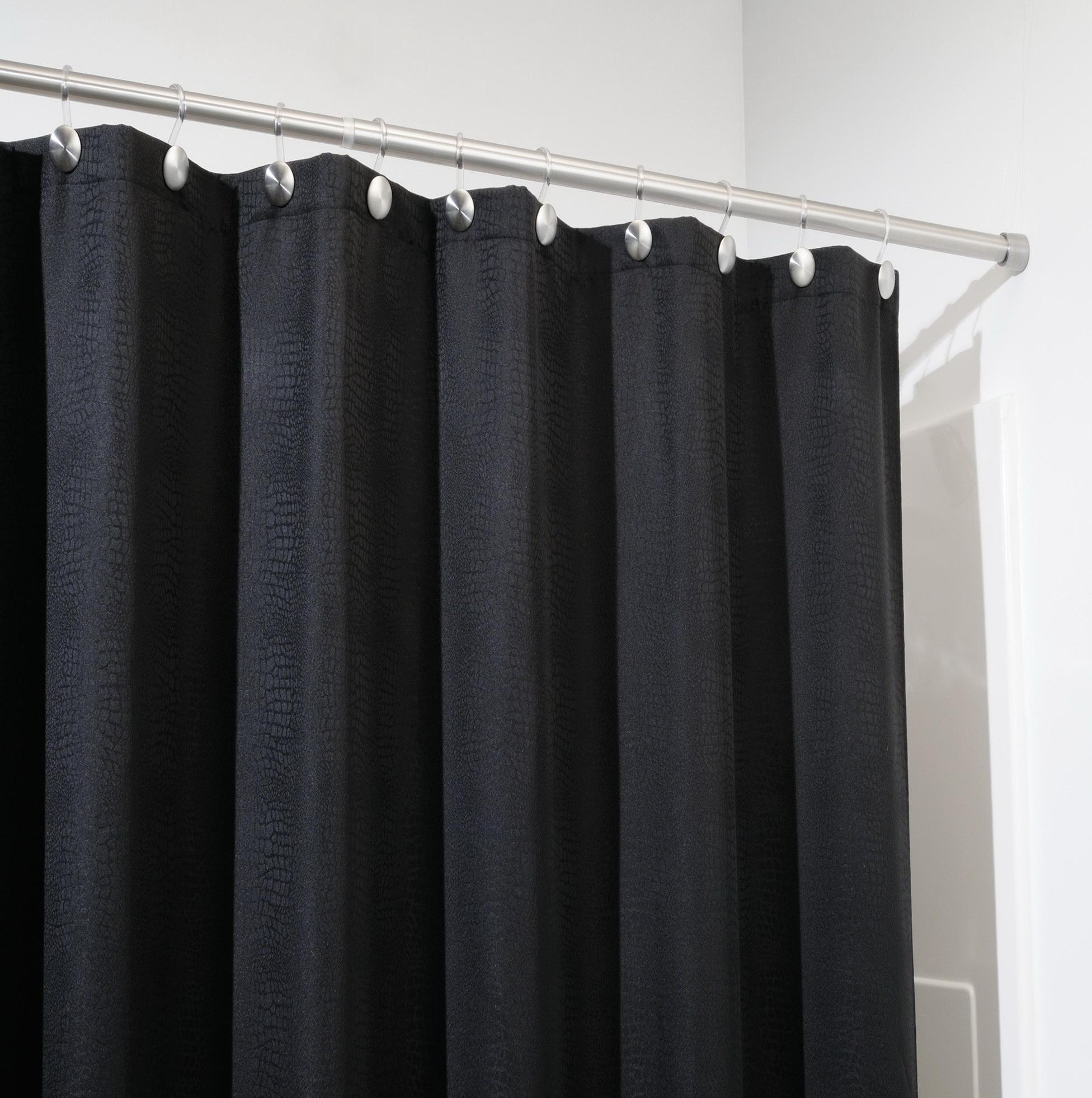 curtain tension rod long home design ideas. Black Bedroom Furniture Sets. Home Design Ideas
