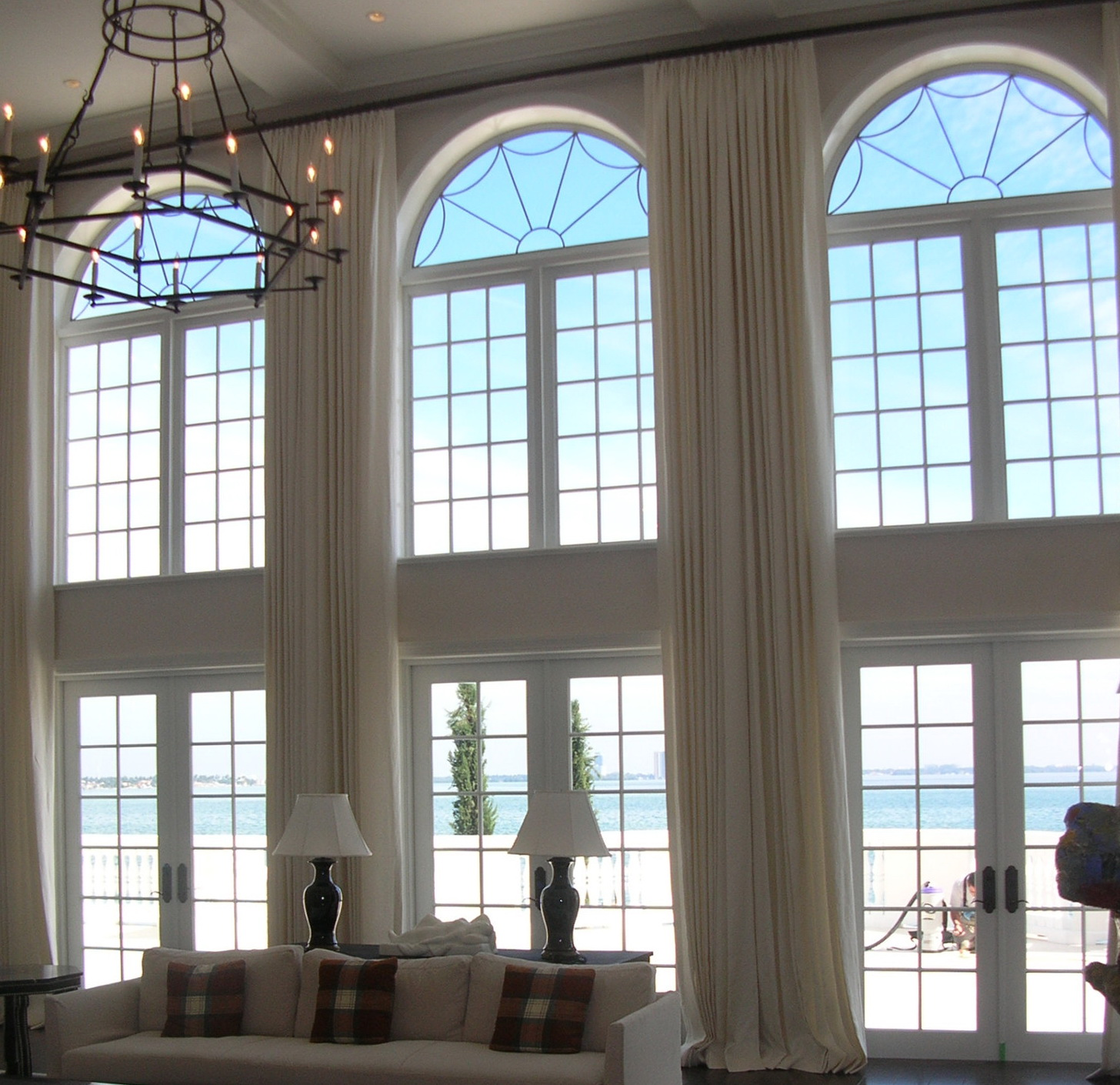 Curtains For High Arched Windows Home Design Ideas