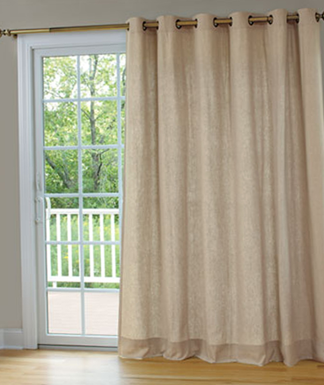 Curtains for patio doors in kitchen home design ideas - Curtain for kitchen door ...