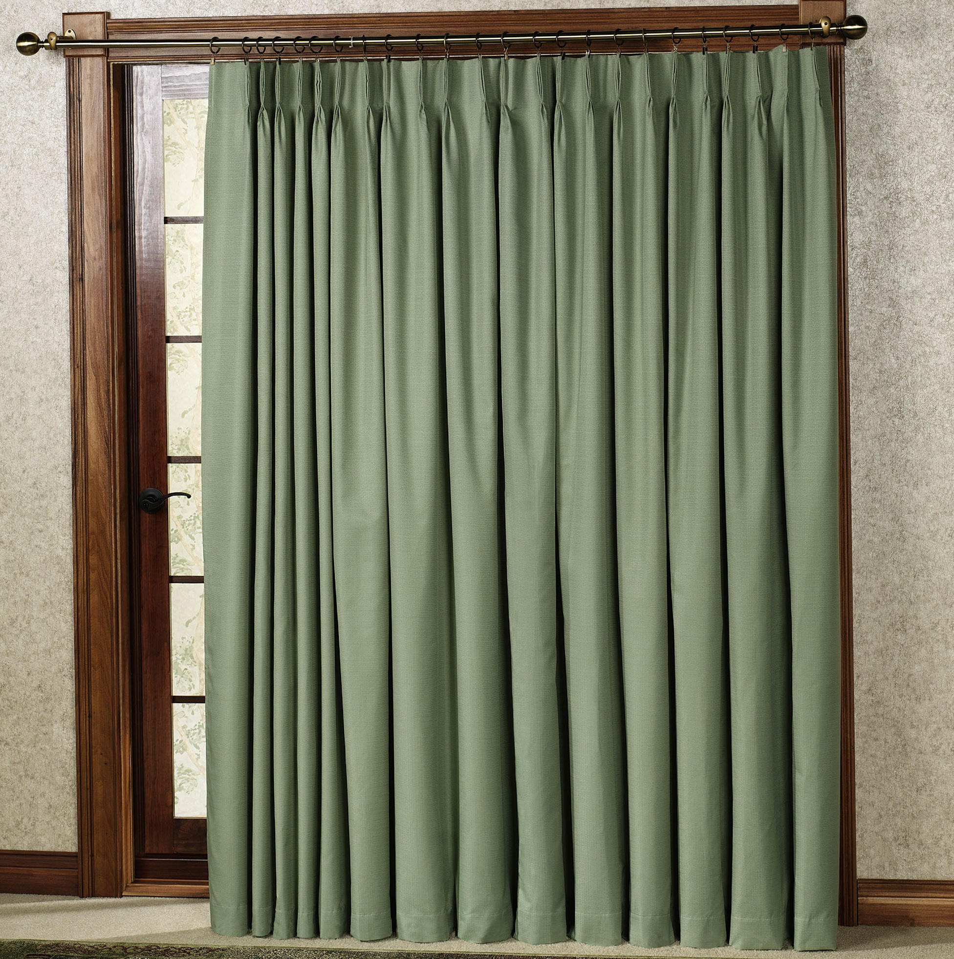 Curtains For Patio Doors With Blinds