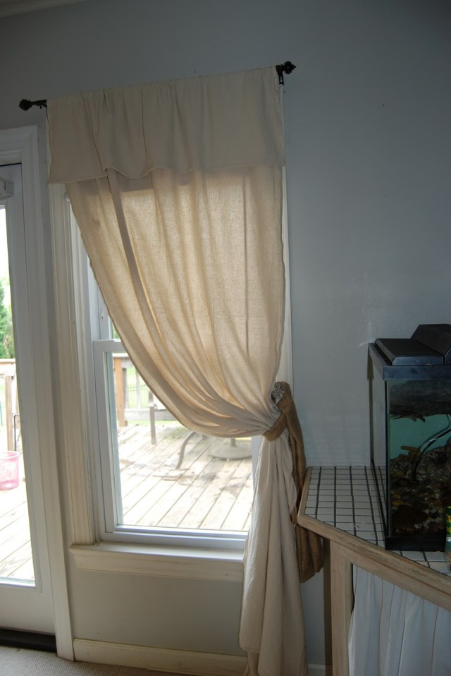 Curtains With Valance And Tiebacks