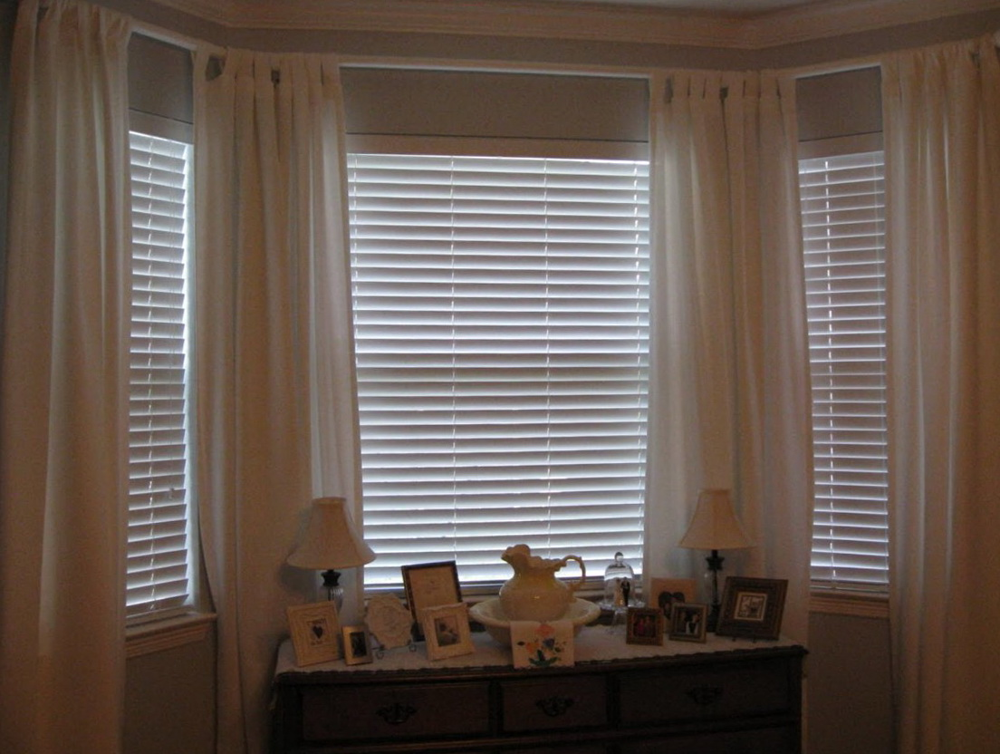 Custom Curtain Rods Bay Window Home Design Ideas
