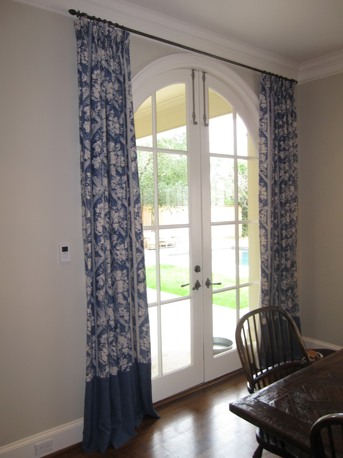 Custom Curtain Rods Dallas Home Design Ideas